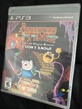 Adventure Time: Explore the Dungeon Because I Don't Know! (PlayStation 3, 2013) - $15.52