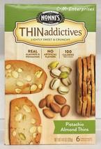 Nonni's Thin Addictives Pistachio Almond Thins 4.44 oz Nonnis - $6.11