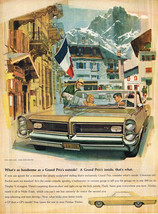 Vintage 1964 Magazine Ad Pontiac What Looks Even Better Inside a GP Is You - $5.93