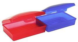 Rolson 2pc Travel Soap Holder Set Beauty Case, 18 Cm, Multicolour #bch - $5.39