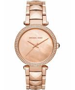 Michael Kors MK6426 Parker Glitz Royalty Rose Gold Women's Watch - £61.48 GBP