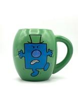 Mr Men Mug Mr Grumpy I Don't Like Mondays Green Coffee Cup 2014 Roger Ha... - $15.88