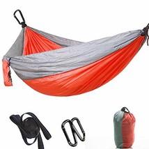 "DIDIBABA Single&Double Camping Hammock -78""x118""Lightweight Parachute Po... - $28.31"