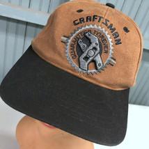 Craftsman Tool Guaranteed Forever 3D Logo Strapback Baseball Cap Hat  - $17.43