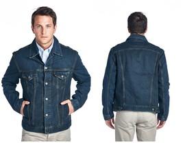 Levi's Men's Standard Cotton Trucker Button Up Denim Jean Jacket Dark St... - $79.00