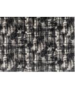 Romo Black Upholstery Fabric Jackson Abstract Velvet Charcoal 7574/04 BT... - $95.00