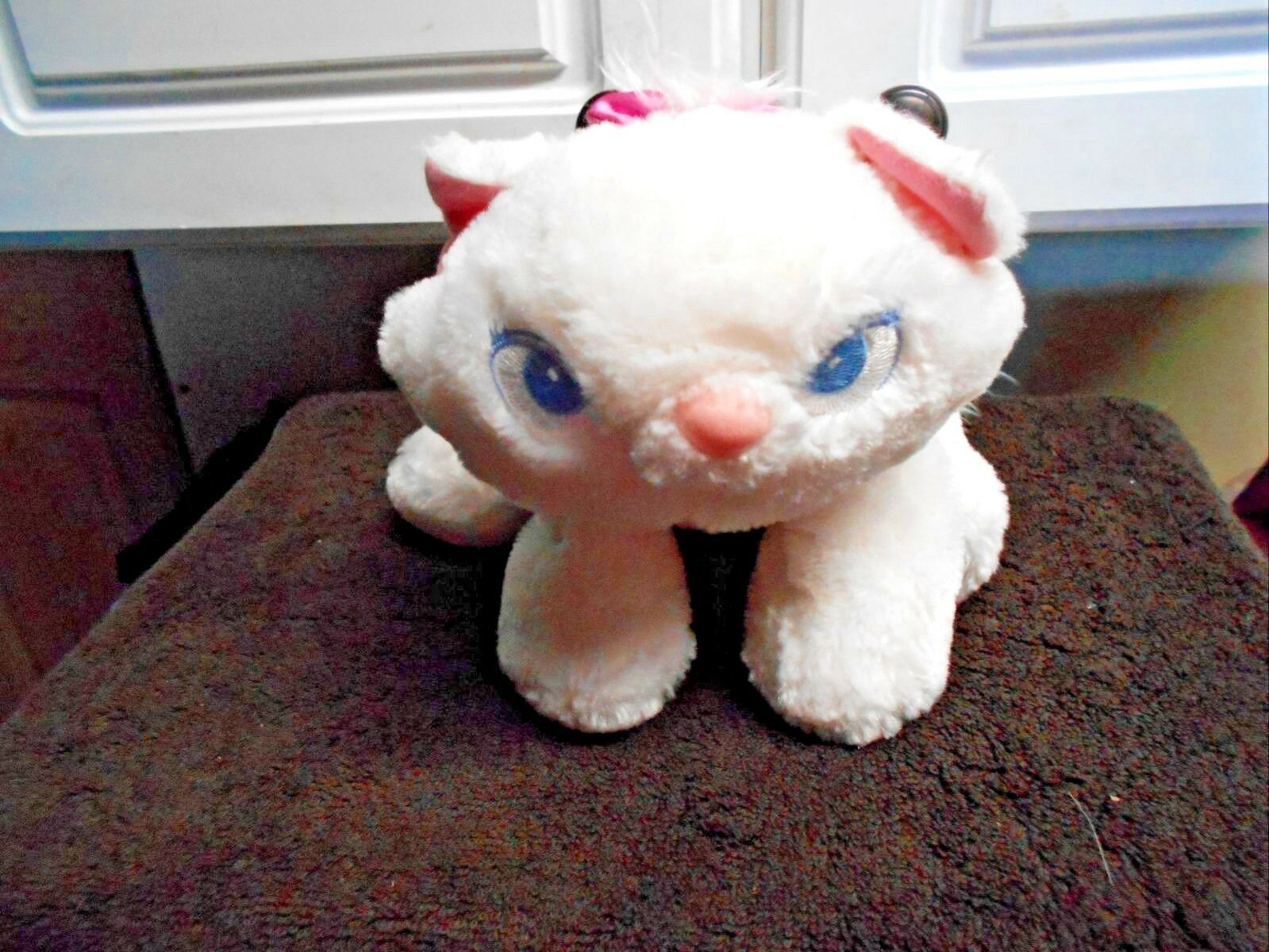 "Disney Store Plush Marie 12"" Lgth Floppy Arisocats"
