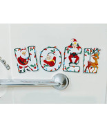 "Christmas ""NOEL"" Magnet Set - 1950's Retro Style (Santa, Child, Elf, Rei... - $12.00"