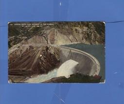 ARROW ROCK DAM HIGHEST IN THE WORLD WALTER LUBKEN 1917 POSTCARD WESLEY A... - $7.43