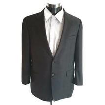 Hickey Freeman Loro Piana Tasmanian 130s Mens Suit Jacket Metallic Lined... - $98.99
