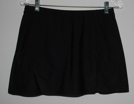 A Shore Fit Swimsuit Skirt Swimwear Bottoms Womens Size 12 Black Separat... - $14.80