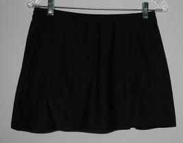 A Shore Fit Swimsuit Skirt Swimwear Bottoms Womens Size 12 Black Separat... - $14.80