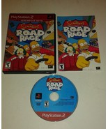 Simpsons Road Rage (Sony PlayStation 2, 2001) Complete Game - $8.56