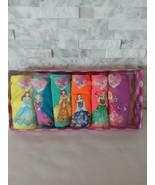 Sophia Cotton Girl's Princess 6 Pack Underwear Panties 5-6 Years - $10.89