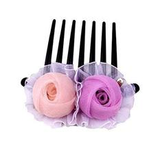 Lovely Flower Coiled Up Hair Hair Accessories/Hair Pins