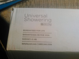 12#   NIB  Delta Faucet 56302 Universal Showering Components Adjustable ... - $113.84