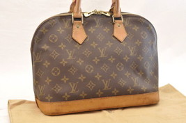 Louis Vuitton Monogram Alma Hand Bag M51130 Lv Auth 5870 - $398.00