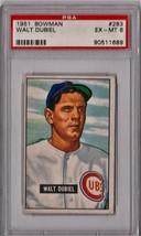 1951 Bowman Walt Dubiel #283 PSA 6 P553 - $31.85