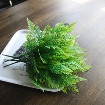 2018 New 5-fork Green Grass Artificial Plants For Plastic Flowers Househ... - $4.50