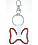 Disney Parks Exclusive Minnie Mouse Iconic Bow Keychain New - €17,88 EUR
