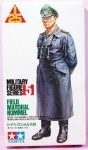 1:25 Field Marshal Rommel Plastic Model Figure Kit No. PF0005 Series No.5   - $34.75