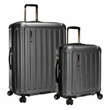 Travelers Choice The Art of Travel 2-piece Hardside Luggage Set, Gray - ... - $128.89