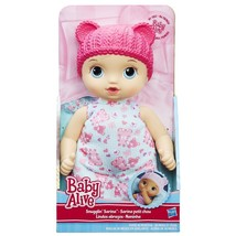 Baby Alive Snugglin' Sarina Doll Soft Body Hasbro - $15.00