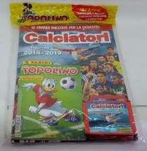 Topolino 3290 + Album Calciatori 2018-19 Panini Gadget Sealed - $12.00