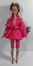 Vintage Barbie Doll Clothing Outfit Mattel Pink Top Jacket Jumper Skirt Pants  - $9.99