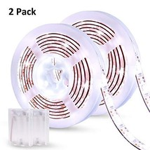 Led Strip Lights Battery Powered YOHOG 2pcs 2M 6.56ft Battery Operated Led Light