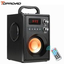 TOPROAD® Big Power 20W Portable Bluetooth Speaker Heavy Bass Wireless Sp... - $121.70