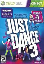 JUST DANCE 3  - Xbox 360 - (Brand New) - $31.12