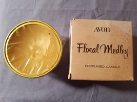 AVON FLORAL MEDLEY PERFUMED CANDLE - $3.22