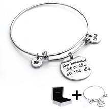 YouMiYa Graduation Gifts Bracelet For Women 2018 Graduation Cap Bracelets She - $35.35