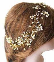 Beautiful Venetian Beads Fashion Bridal Hair Pins/Hair Clips, Golden