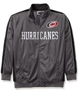 NHL Carolina Hurricanes Men's Big Tall Full Zip Tricot Reflective Track ... - $34.95