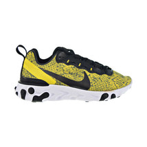 Nike React Element 55 Women's Shoes Speed Yellow-White-Black CT1551-700 - $140.00