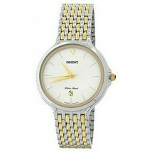 Orient FUNF7004W0 Analog Pulse Wristwatch for Men, White - $88.19