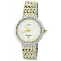 Orient FUNF7004W0 Analog Pulse Wristwatch for Men, White - $88.19