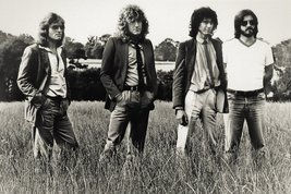 Led Zeppelin Poster 24 X 36 in Robert Plant Jimmy Page John Bonham Paul Jones OP - $29.99
