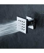 Brass Square 16-Nozzle Massage Shower Body Jet Spray Head For Spa Bathro... - $51.46
