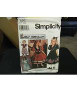 Simplicity Daisy Kingdom 7698 Girl's Dress & Romper Pattern - Size 3 - $5.04