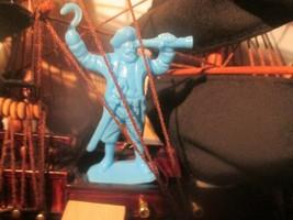 1 Mystery mfg. Pirate Capt 54mm goes with Marx~Warhansa & Charbens Barszo  - $2.93