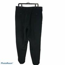 Men's Wrangler VF  Legendary Gold Sz 40 / 32 Dress Pants Black Pleated F... - $15.83