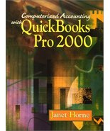 Computerized Accounting and Quickbook 2000 with CD and Student Data Horn... - $12.87