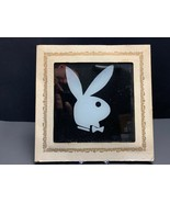 PLAYBOY BUNNY CARNIVAL GLASS tile 6 X 6 COLLECTIBLE RARE VINTAGE - $22.75