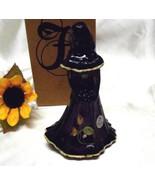 3570 Fenton Gift Shop Exclusive Handpainted Aubergine Bridesmaid Doll - $99.50