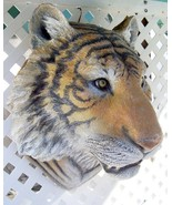Lifesized Tiger Head wall sculpture - $185.90