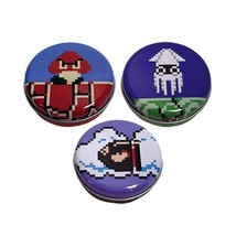 Nintendo Super Mario Brothers Know Your Enemies Mints Set of 3 Metal Tins SEALED - $14.46