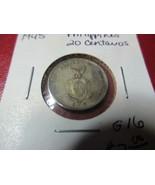 United States Philippines 1945 Silver 20 Centavos - $6.99